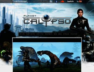 planetcalypso.com screenshot