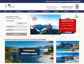 planete-croisiere.com screenshot