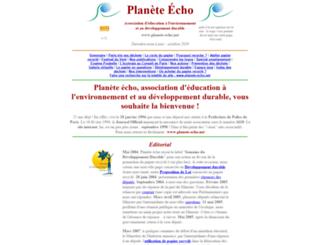planete-echo.net screenshot