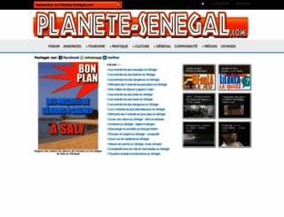 planete-senegal.com screenshot