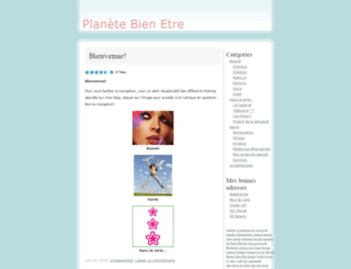 planetebienetre.wordpress.com screenshot