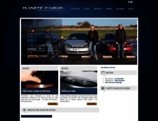 planetecougar.com screenshot