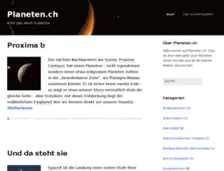 planeten.ch screenshot