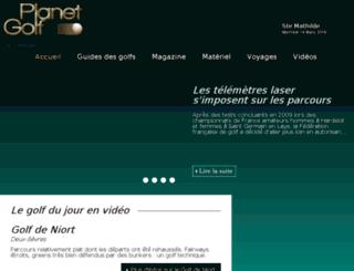 planetgolf.fr screenshot