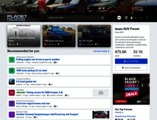 planetisuzoo.com screenshot