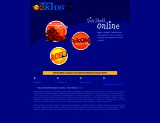 planetozkids.com screenshot