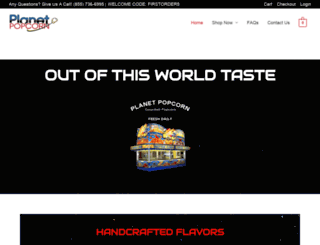 planetpopcorn.com screenshot