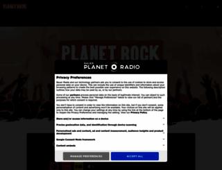planetrock.com screenshot
