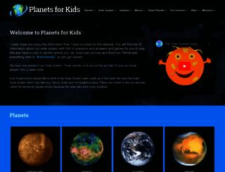 planetsforkids.org screenshot