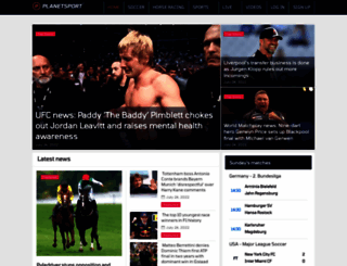 planetsport.com screenshot