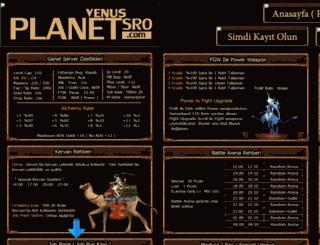 planetsro.com screenshot