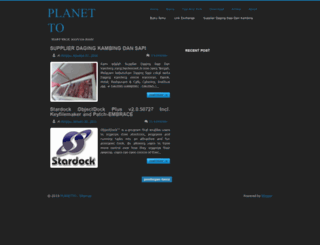 planetto.blogspot.com screenshot