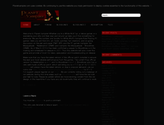 planetvampire.com screenshot