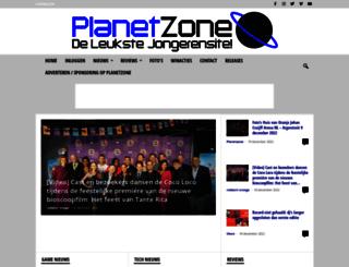 planetzone.nl screenshot