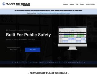 planitschedule.com screenshot