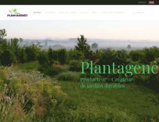 plantagenetplantes.com screenshot