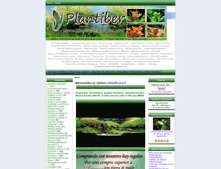 plantasdeacuarios.com screenshot