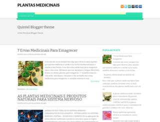 plantasmedicinaisdavida.blogspot.com.br screenshot