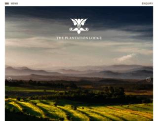 plantation-lodge.com screenshot