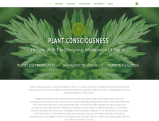 plantconsciousness.com screenshot