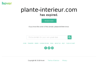 plante-interieur.com screenshot