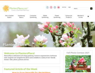 plantersplace.com screenshot