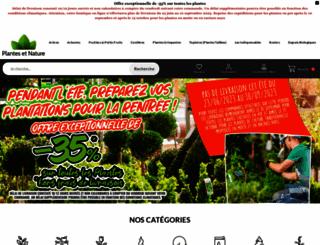 plantes-et-nature.fr screenshot