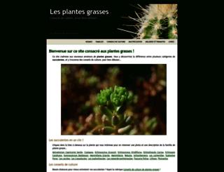 plantes-grasses.images-en-france.fr screenshot