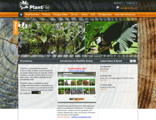 plantfile.com screenshot