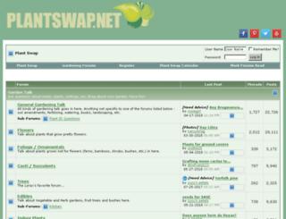 plantswap.net screenshot