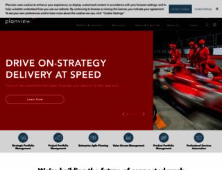 planview.com screenshot