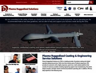 plasmarugged.com screenshot