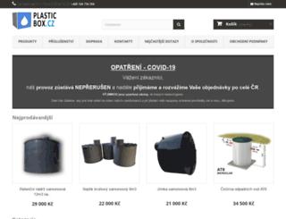 plasticbox.cz screenshot