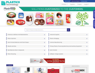 plastics-technology.com screenshot