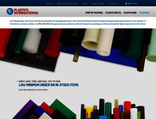 plasticsintl.com screenshot