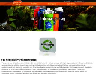 plastprint.se screenshot