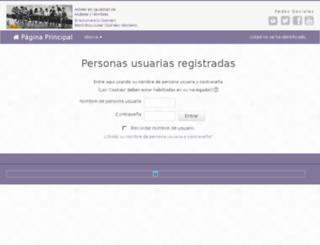 plataforma.asmoz.org screenshot