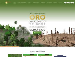 plataformaenergetica.org screenshot