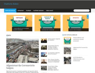 platformhaber.net screenshot