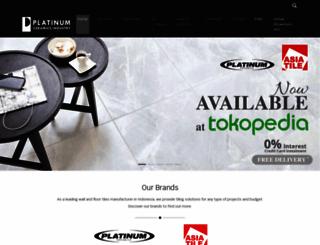 platinumceramics.com screenshot