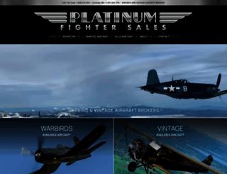 platinumfighters.com screenshot