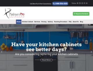 platinumpropainters.com screenshot