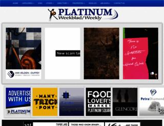 platinumweekly.co.za screenshot