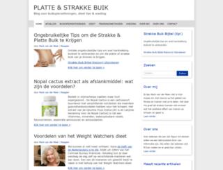 platte-buik.nl screenshot