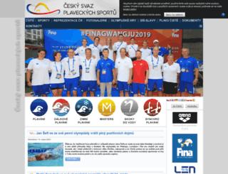 plavani.cstv.cz screenshot