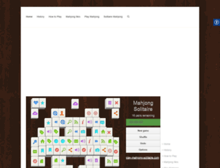 play-mahjong-solitaire.com screenshot
