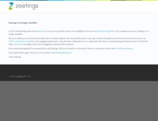 play.zeetings.com screenshot