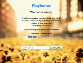 playbon.us screenshot
