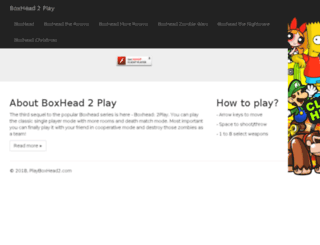 playboxhead2.com screenshot