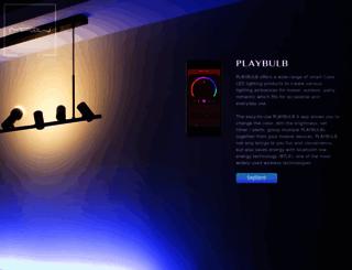 playbulb.com screenshot